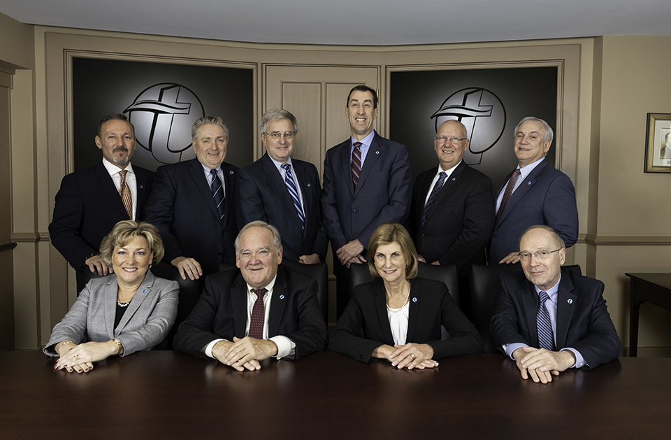 TSB Board posing for photo