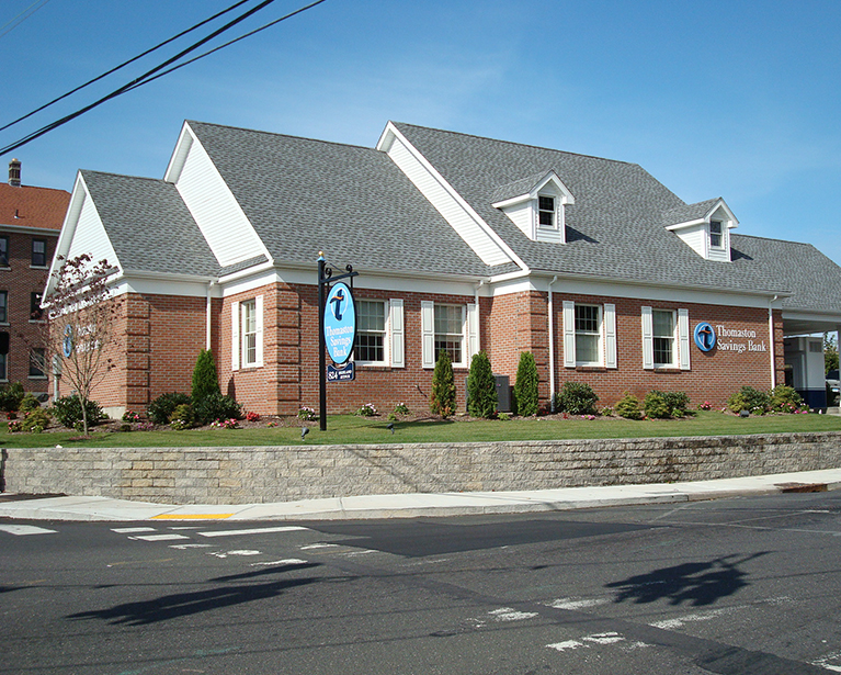 Thomaston Savings Bank in Waterbury on Highland Ave.