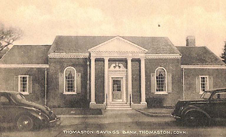 Historic photo of Thomaston Savings Bank