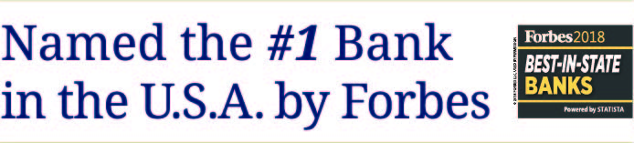Thomaston Savings Bank - Named the #1 Bank in the USA by Forbes
