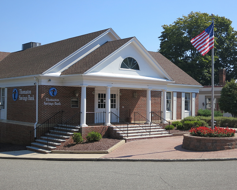 Thomaston Savings Bank in Watertown.