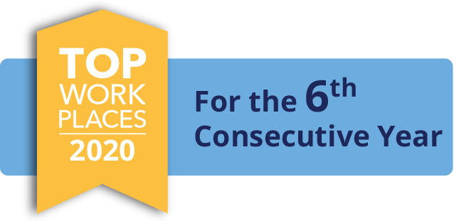 Top Workplace for 5th Consecutive Year