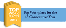 Top Workplace for 3rd Consecutive Year